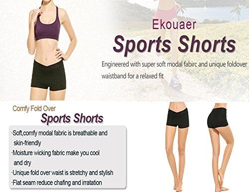 Ekouaer Damen Short Seeblau