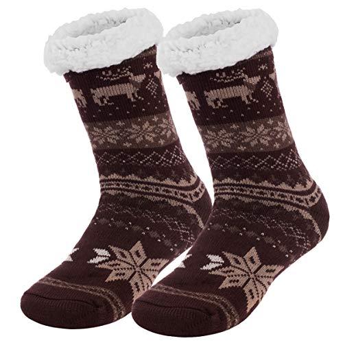 Ferocity Hombre Calcetines térmicos ricos en algodón para resbalón para el invierno Modelo 3 [033]...