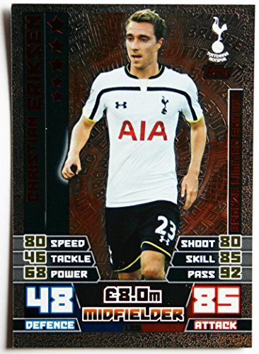 5 > LIMITED EDITION BRONZE CHRISTIAN ERIKSEN > Number BLE5 by Topps ()