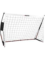 Avento Goal180 Fußballtor, Black/Red/White, One Size