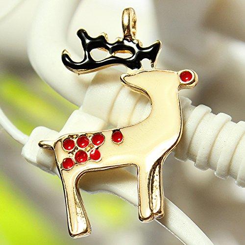 Bluelover 11 Mixed Gold Charms Tree Deer Schneeflocke Anhänger - Garland (Gold Tree Garland)