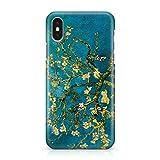 ItalianCaseDesign Cover Custodia Protettiva Van Gogh - Ramo di Mandorlo in Fiore Quadro Dipinto Arte Compatibile con iPhone X - XS - XS Max - XR (Seleziona Il Modello)