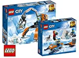 Lego City Arktis-Eiskran auf Stelzen 60192 City Arktis-Expeditionsteam 60191