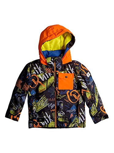 Quiksilver Little Mission - Snow Jacket - Snow Jacke - Jungen - 3 - Schwarz (Jacke Quiksilver-herbst)