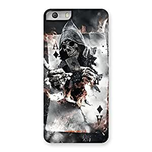 Neo World Designer Ace and Skull Back Case Cover for Micromax Canvas Knight 2