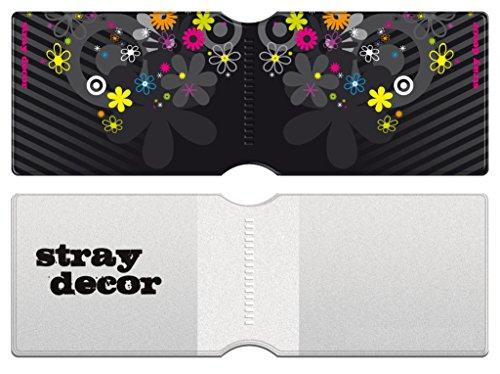 Stray Decor (Black) 3x Buspass/ Fahrkartenhalter im Brieftaschenformat, IsarCard, fahrCard, RMV Clevercard, Kolibricard oder Karteninhaber auf Reisen Kombi