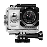 ICONNTECHS IT FULL HD 1080P Wasserfeste Sport-Actionkamera, 170° Weitwinkellinse, WiFi HDMI...
