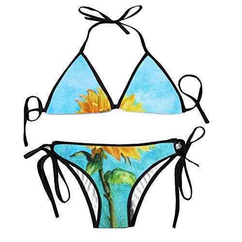 Kostüm Stammes Sammlung - Women's Bathing Swimsuits Adjustable Strap Rose Pink Cherry Blossom Bikini Set Two Pieces Swimwear