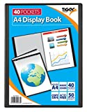 (NUS approvato) Tiger 40A4Pocket Presentation display Book & Inspirational Magnet