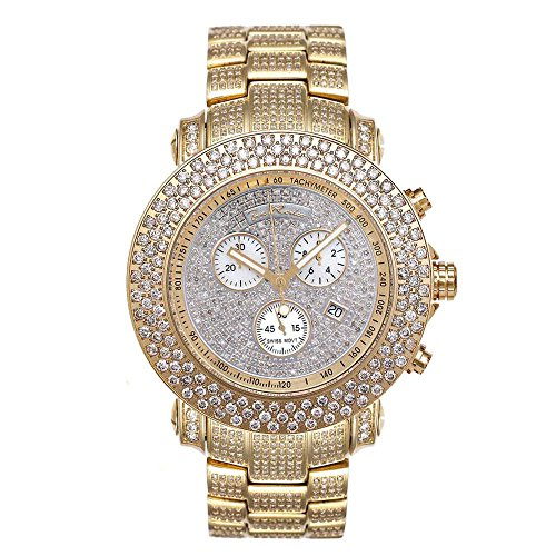 Joe Rodeo Diamond Orologio da uomo - oro JUNIOR 20,5 CTW