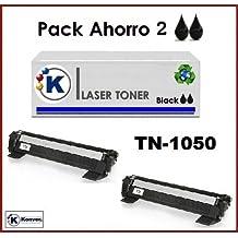 Toner YN1050, 2XTN1050 ,Brother HL1110 - Impresora láser, cartucho de toner compatible T1050