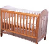 White Baby Bed Mosquito Net High Mesh Density Playpen Baby Crib Netting For Strollers Car Seats Cradles Cribs 14081
