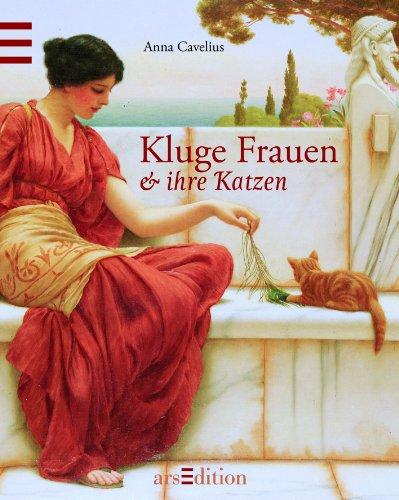 Buchseite und Rezensionen zu 'Kluge Frauen & ihre Katzen' von Anna Cavelius