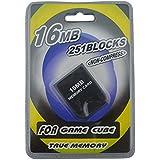 Link-e ® - Carte memoire 16mb (251 blocks, memoire non compressée) pour console Nintendo Gamecube