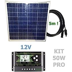 VIASOLAR Kit 50W Pro 12V Panel Solar