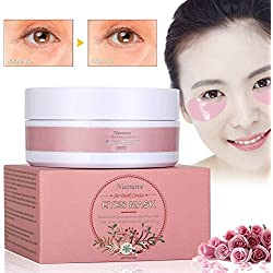 Eye Mask, Eye Pad, Collagène Yeux Patch, Masque pour les yeux, Hydratant Masque Soin Yeux Collagène, Anti Age Masques Soin pour les Yeux 60pc