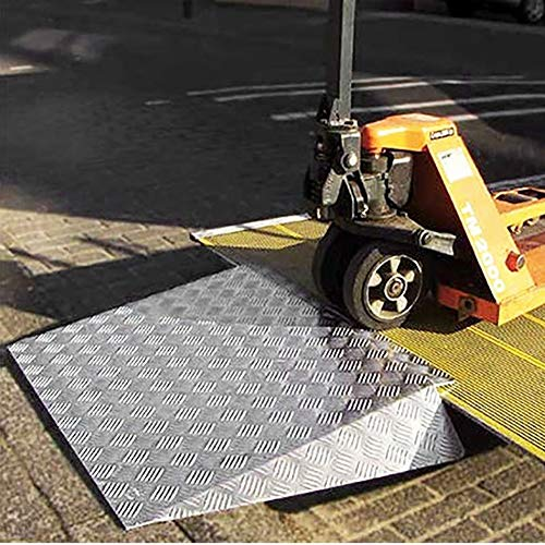 Rollstuhlrampen schwellenrampe für rollstühle, Mobility Scooter und Power Chairs mit Rutschfester ausrüstung