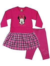 Minnie Mouse 2tlg Set mit schönem Lagenlook in pink