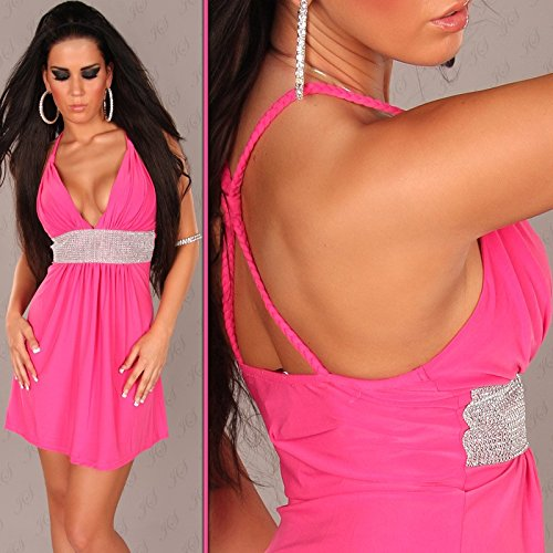 In-Stylefashion - Robe - Femme Rose Rose Taille unique Rose - Rose bonbon