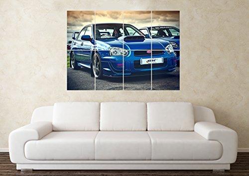 grosse-subaru-impreza-wrx-sti-sport-supercar-wand-poster-kunstdruck-bild