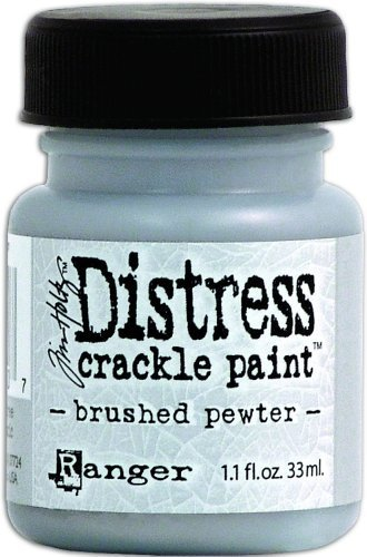 ranger-tdc-met-24507-tim-holtz-distress-metallic-crackle-paint-brushed-pewter-11-ounce-by-notions-in