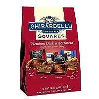 Ghirardelli Squares Dark Chocolate Assortment, 421.7g