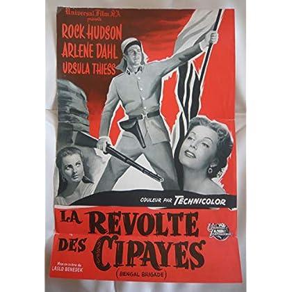 Dossier de presse de La révolte des Cipayes (Bengal Brigade) (1954) – Film de Laslo Benedek avec Rock Hudson – Bon état