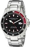 Stuhrling Original Regatta Elite - Reloj para hombre color negro/plata