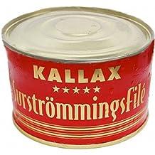 Surströmmingsfile Kallax 300g Dose (fermentiertes Heringsfilet)