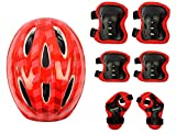 #4: Krazy KF-4 in 1 Multiple-Sports Protective Gears Kit For Age-7' to 14'