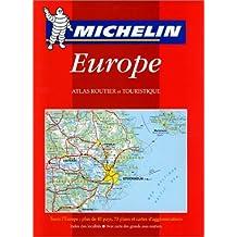 Atlas routier et touristique : Europe