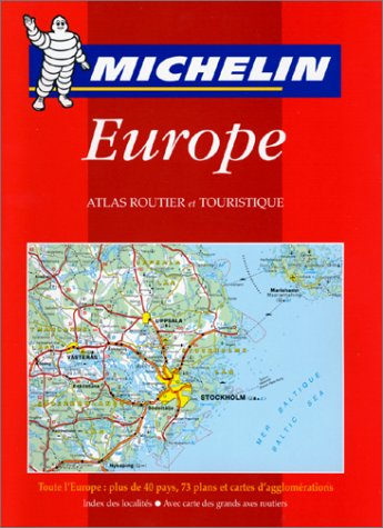 Carte routière : Europe, 136, 1/1000000