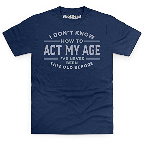 never-been-this-old-before-t-shirt-uomo-blu-navy-l