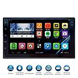 Atoto 7 HD Touchscreen 2Din Navigazione Auto Android stereo - QuadCore auto intrattenimento multimediale W/FM/RDS Radio, WiFi, BT, Specchio link, e più (no Lettore DVD.) immagine