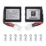 GP TOYS Batterie 800mAh Akku für S911 S912 S916 RC Auto Zubehör 15-DJ02(Die dritten Generation)