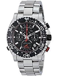 (CERTIFIED REFURBISHED) Bulova Precisionist Analog Black Dial Men's Watch - 98B212