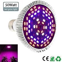 Pawaca - Bombilla LED de 100 W para Plantas de Interior, Apta para Todo Tipo