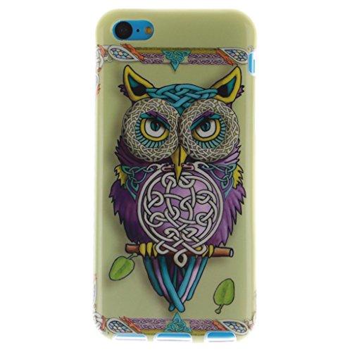 MYTHOLLOGY iphone 5C Coque, Doux Flexible Case Silicone TPU Protection Cover Housse Apple iphone 5C GXZM CSMTY