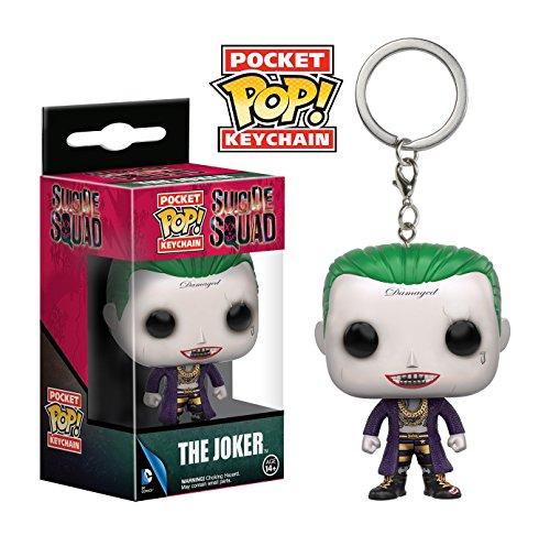 Funko Pop llavero Joker (Escuadrón Suicida) Funko Pop Escuadrón Suicida
