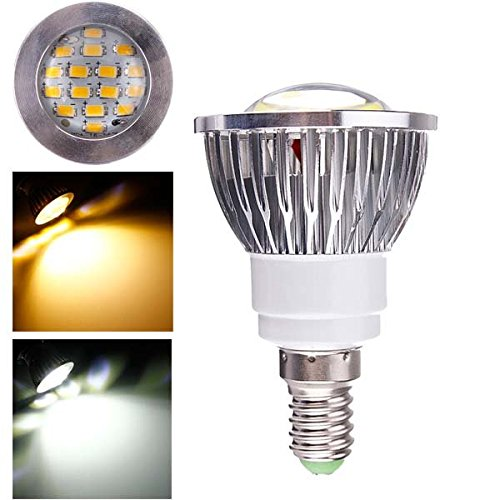 Pegasus E14 6w ac 220v 16 smd 5630 weißes/warmes Weiß LED entdeckt Glühbirnen