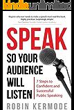 Speak (English Edition)