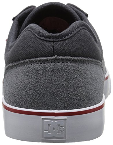 DC TONIK Unisex-Erwachsene Sneakers Grey/Grey/Red