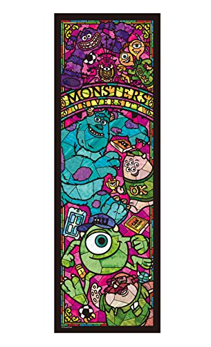 Disney 456 Stained Piece Monsters University Stained Glass Dsg-456-720 Tightly (Puzzle Glass Disney Stained)