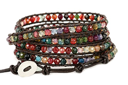 blueyes-collection-spirited-multi-farbe-achat-edelstahl-snap-button-lock-leder-armband