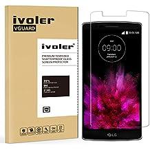 LG G Flex 2 Protector de Pantalla, iVoler® Protector de Pantalla de Vidrio Templado Cristal Protector para LG G Flex 2-Dureza de Grado 9H, Espesor 0,20 mm, 2.5D Round Edge-[Ultra-trasparente] [Anti-golpe] [Ajuste Perfecto] [No hay Burbujas]- Garantía Incondicional de 18 Meses