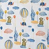 Biojersey Baby Luftballons Elefant Schildkröte Biostoff