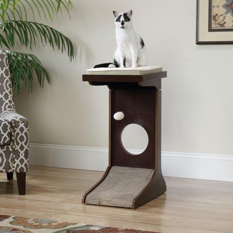 sauder-416818-adjustable-height-cat-tower