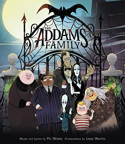 The Addams Family: An Original Picture Book: Includes Lyrics to the Iconic Song! (English Edition) (Addams Halloween-songs Familie)