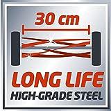 Einhell Hand Rasenmäher GC-HM 30 (30 cm Schnittbreite, max. 42 mm Schnitthöhe, 16 l Fangkorb, empfohlen bis 150 m²) - 8