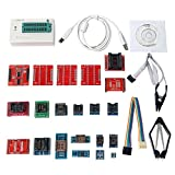 Signstek Universal USB TL866A Universal Programmer + 21 Adapter + 21 IC Clip Klemme, AVR PIC Bios MCU Flash EPROM Programmierer